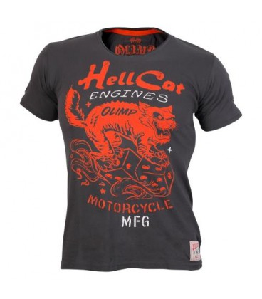 Olimp Men's T-shirt - HELL CATS charcoal L