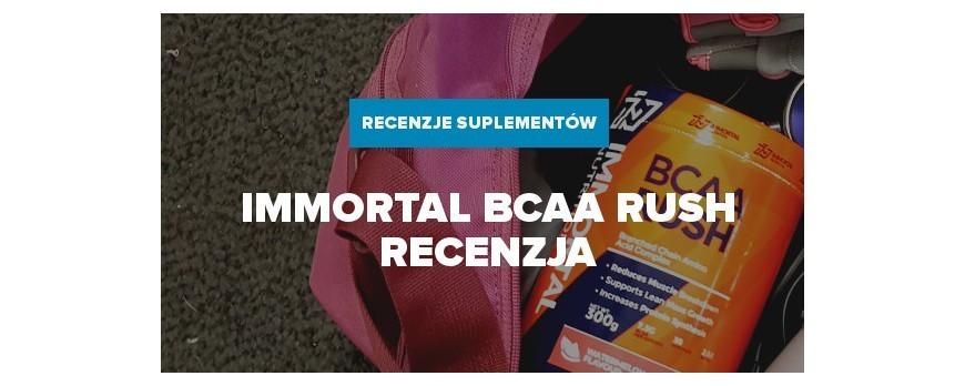 Immortal BCAA Rush - Recenzja